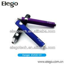 2014 Hot Sale eVod VV Variable Voltage Twist EGO Battery for Ecig 650mAh 1000mAh in Stock