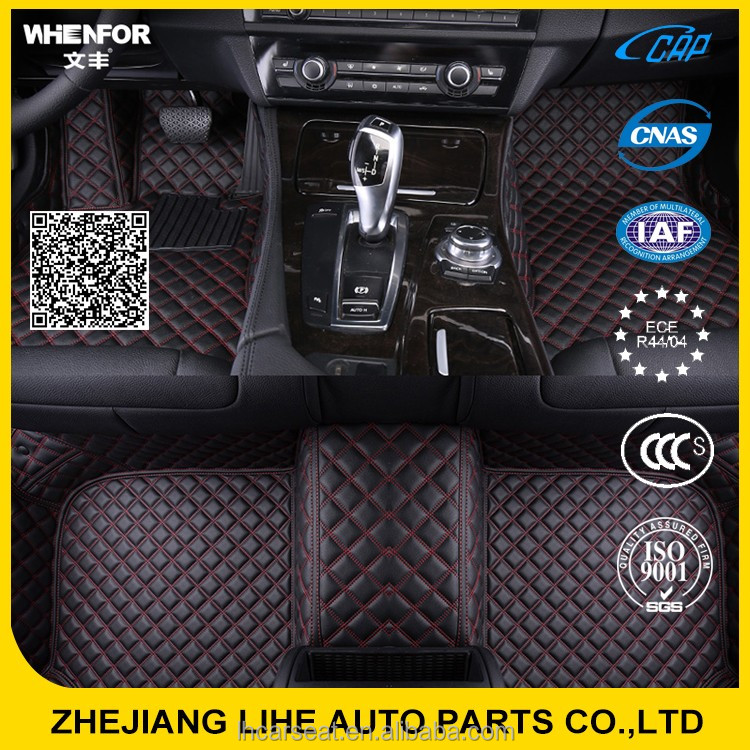 Professional supply car floor mats accessories for suzuki ciaz
