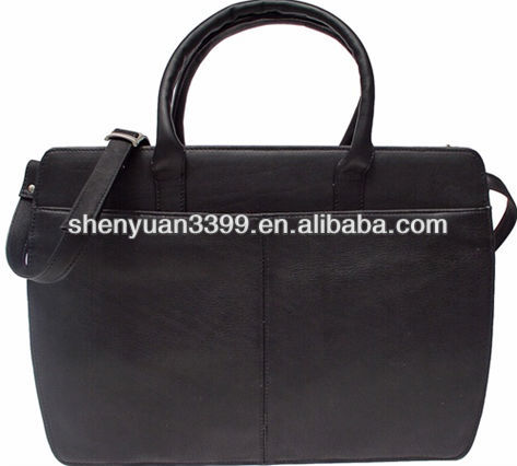 Women's leather briefcase/attache case/business bag briefcase