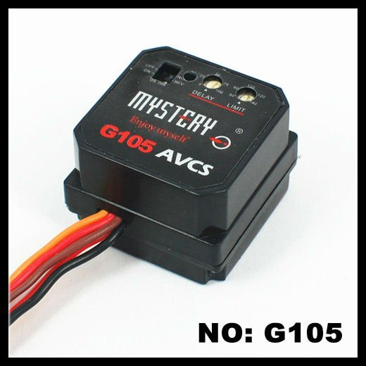 2013 Mystery G105 Head Lock AVCS Digital RC Gyro For Trex 450 500 R/C HELICOPTER
