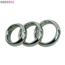 40/45/50mm For Choose Donut Metal Stainless Steel Cock Rings Male Delay Ejaculation Hard Prevent Impotence Penis Lock