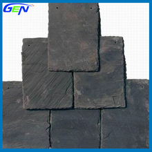 Cheap Natural Black Square Slate Roof Tile