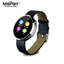 MaPan Android 4.4 Smart watch Android watch with heart rate monitor round face smartwatch