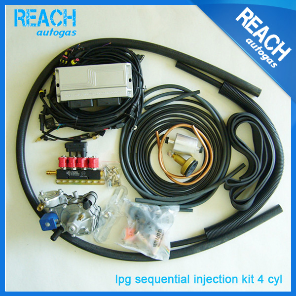 China Supplier Lpg Conversion Kit For Gas Car