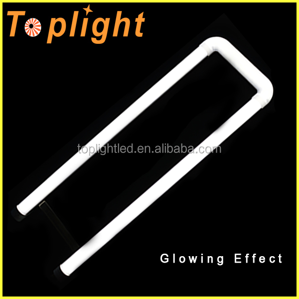3 years waranty high brightness america u-tube 4100k 2ft T8 u shape led tube light