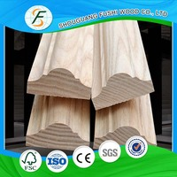 Beautiful wood crown moulding for cabinets/ furniture decoration