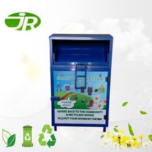 Charity Clothing Bin with Customized Color and Size