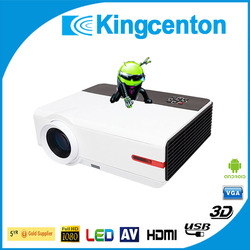 Best buy ultra short throw 4500 lumens fhd 1080p 3d hologram projector home cinema projector projector android mobile