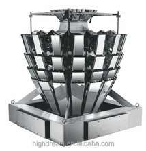 Multihead Weigher Automatic Packing Machine System For Peanuts/rice/snack/sugar
