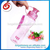 2015 bottle sport bpa free,bpa free plastic water bottle with portable lid,black plastic bottle
