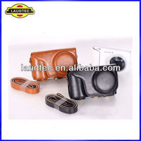 Leather Camera Case Bag for Samsung Galaxy Camera EK-GC100 Mobile Phone ---Laudtec