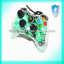 Hot selling For xBox360 Wired Controller with led light