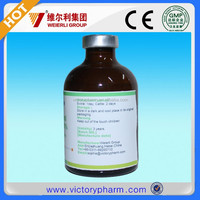 Veterinary medicine company animal drug 10% Closantel Sodium injection for cattle worms