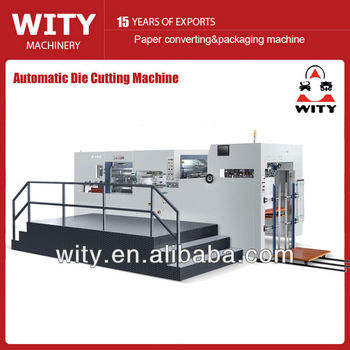Automatic paper Cutting Machine (with stripping)