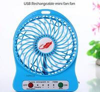 evaporative air cooler rechargeable battery operated fan with light rechargeable fans KRG-Mini Fan