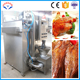 fish cooking machine /commercial smoked food process house with steam cooking function