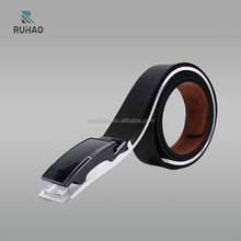 Fashion designer male belt, made in china mens leather belts for men