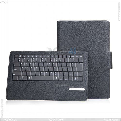 Detachable ABS Wireless Bluetooth Keyboard Leather Case for Lenovo Thinkpad Tablet 2 P-LENOVOTABLET2CASE001
