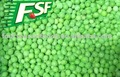 2016 crop healty IQF green peas