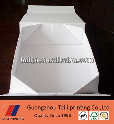 Perfect design&high quality foldable boxes/luxury gift packaging paper box/rigid cardboard gift box