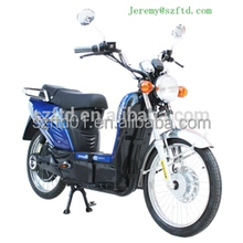 wholesale 2.5-17 wheel cheap e-scooter electric motorcycle with depals