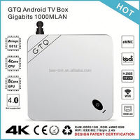 2015 Newest Top Selling mbox mxiii tv box 4k support 4k and H.265