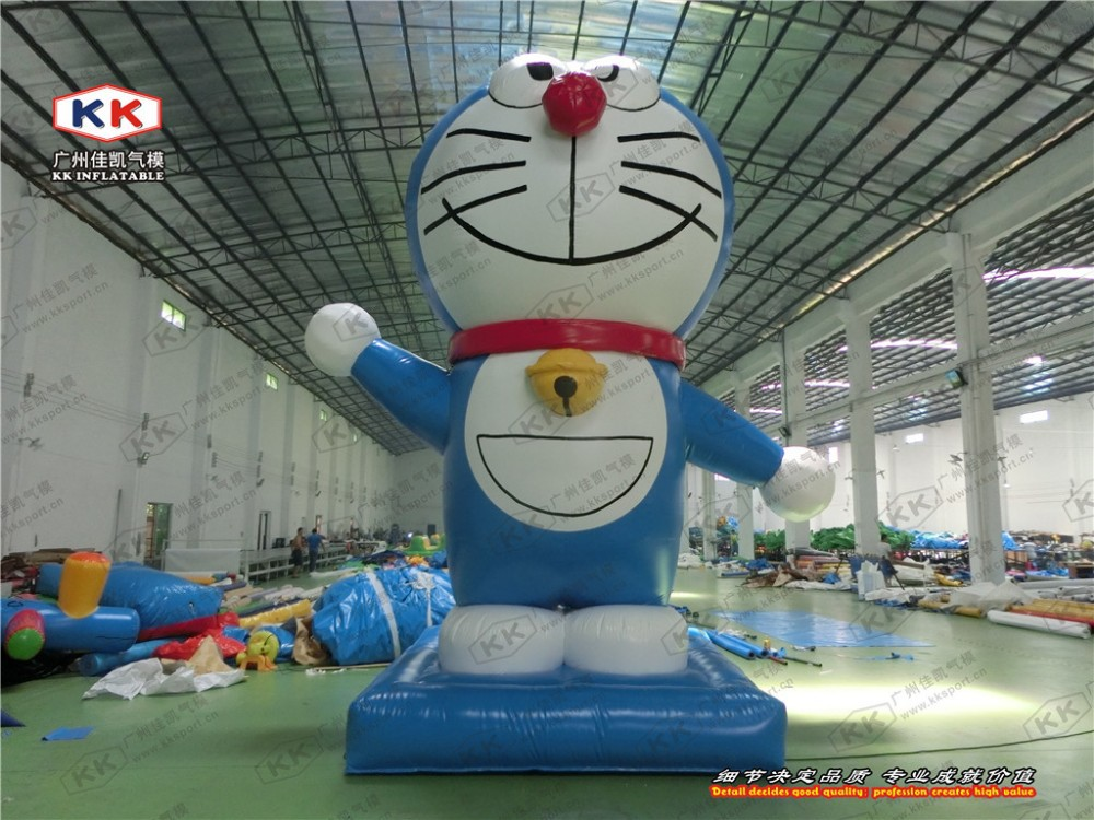 Cute giant inflatable hello kitty inflatable model for advertising