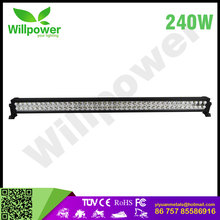 New Design for 42inch 240w led light bar combo led driving light for 4*4 or suv car accessories 12v 24 volt led work light