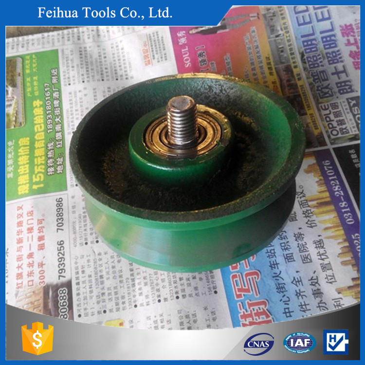 Driving Crane Rail Caster Wheel Forging Wheel Trolley Wheel For Sale