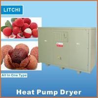 Ideal drying quality hot air heat pump dehydrator fruit nuts and dried fruits fruits and vegetable processing equipment
