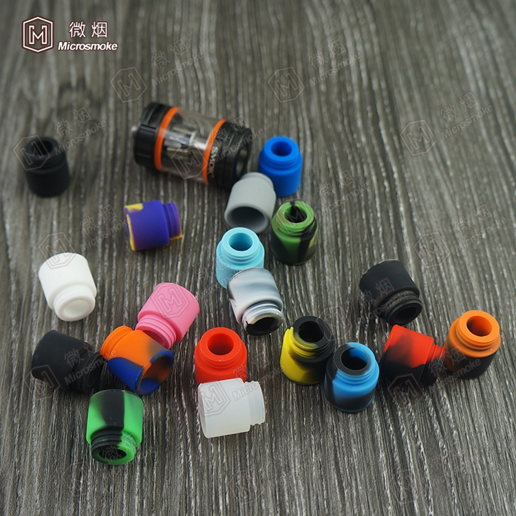510 Silicone Mouthpiece Cover Drip Tip Disposable Colorful Silicon testing caps rubber Test Tips Tester Cap silicone drip tips