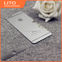 Tempered mirror glass screen protector for iPhone 6