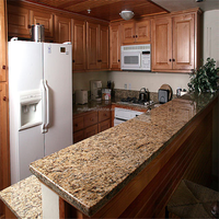 santa cecilia dark pre cut granite countertops