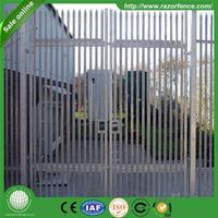 cattle livestock 100mm*68mm cold rolled palisade fencing