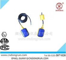 Cable floating ball hanging liquid level switch/low price