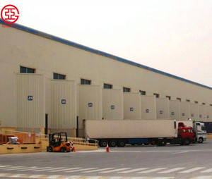 China cost-effective large span steel structure big canopy logistics warehouse/storage/building