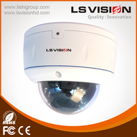 LS VISION HD CCTV Auto Focus Onvif P2P Poe IP Dome Camera with Free App Video Security System