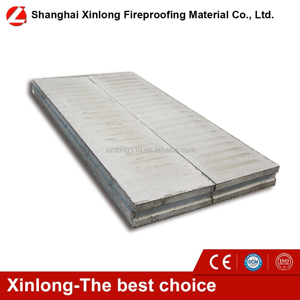 Water proof and sound proof good quality corrugated EPS sandwich panel for prefab building