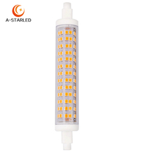 Ceramic Flicker Free r7s led 10w with CE ROHS Certificates