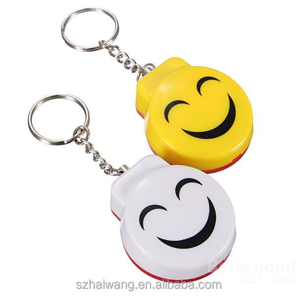 Smiling face Personal Panic Alarm Anti-Rape Anti-Attack self-defense Electronic Safety Alarm