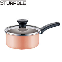 Colorful 16cm Non-stick Sauce Pan with Best Price for Cooking and Frying