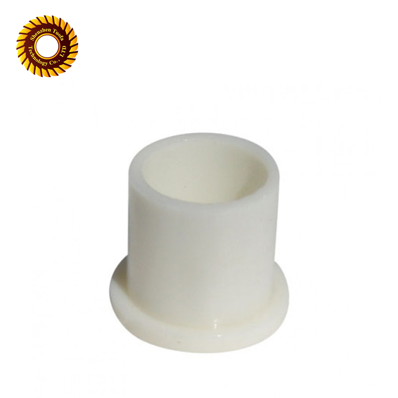 Custom white plastic cnc machining service nylon <strong>parts</strong>