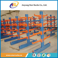 Warehouse Logistic Equipment Steel Pipe Storage Cantilever Rack