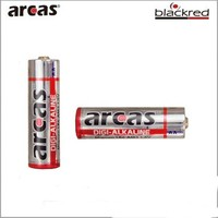 1.5V AA LR6 AM3 alkaline Dry battery with shrink blister packaging