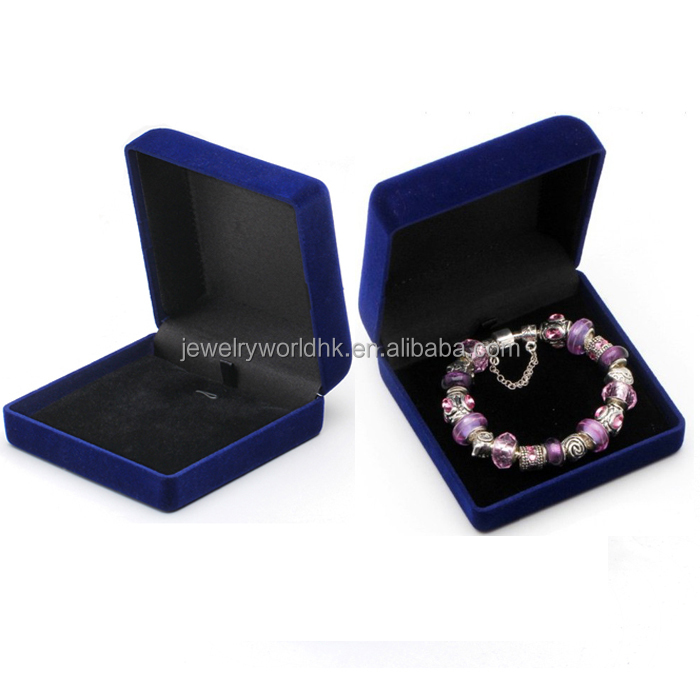 jewelry gift boxes, wholesale high quality handmade flannel jewelry gift boxes