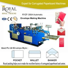 huge discount full automatic envelope sealing machine price, wallet envelope making machine