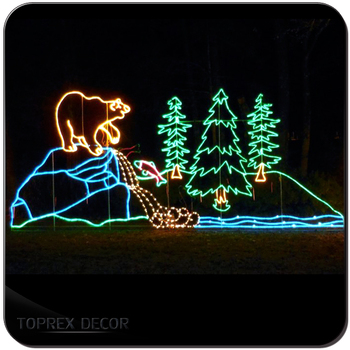 Wholesale Christmas motif light garden decoration lights