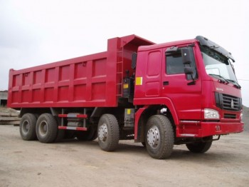 Chinese Cheap Truck HOWO 8x4 Tipper