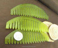 Stronge new on market Jade comb scraping for scalp massage