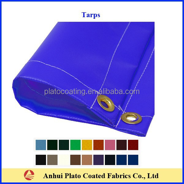pvc tarpaulin trailer covers